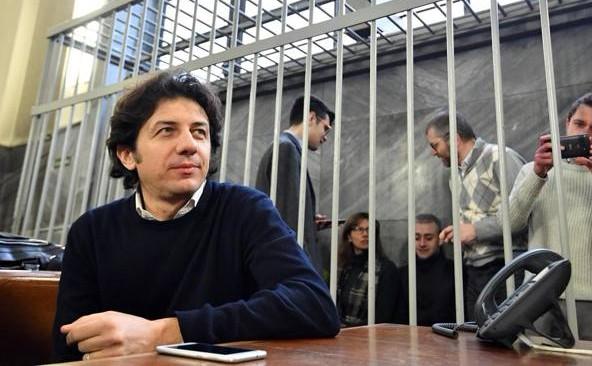 Marco Cappato oggi in tribunale a Milano
